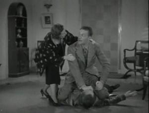 Warren William wrestles Gene Lockhart
