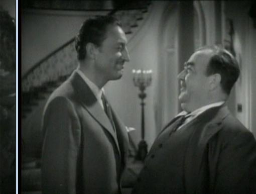 Warren William and Eugene Pallette