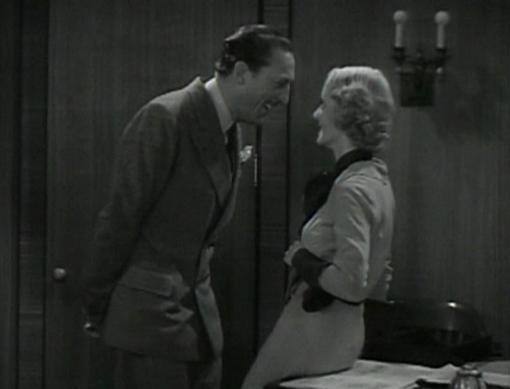 Warren William and Bette Davis