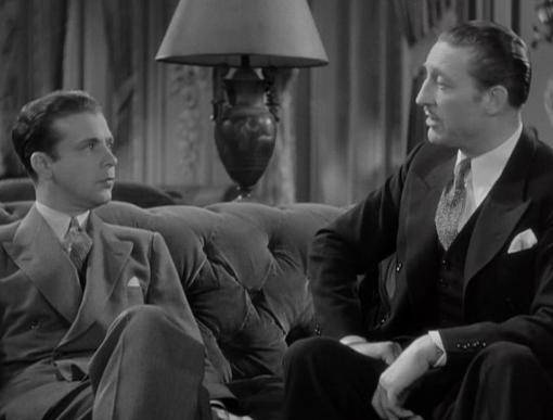 Dick Powell and Warren William