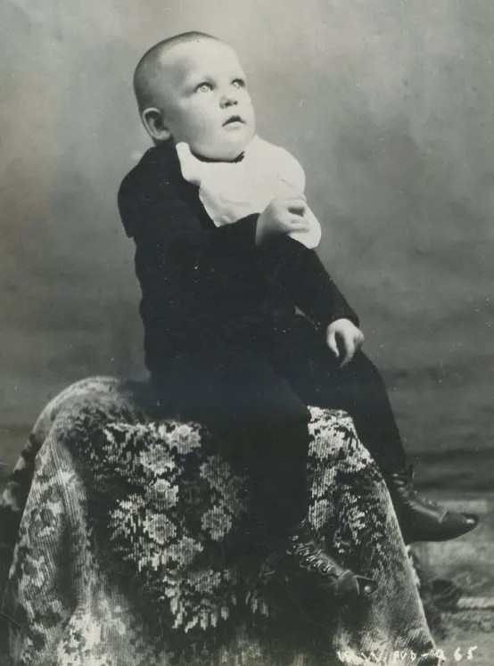 Warren William Krech as baby