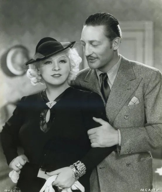 Warren William and Mae West