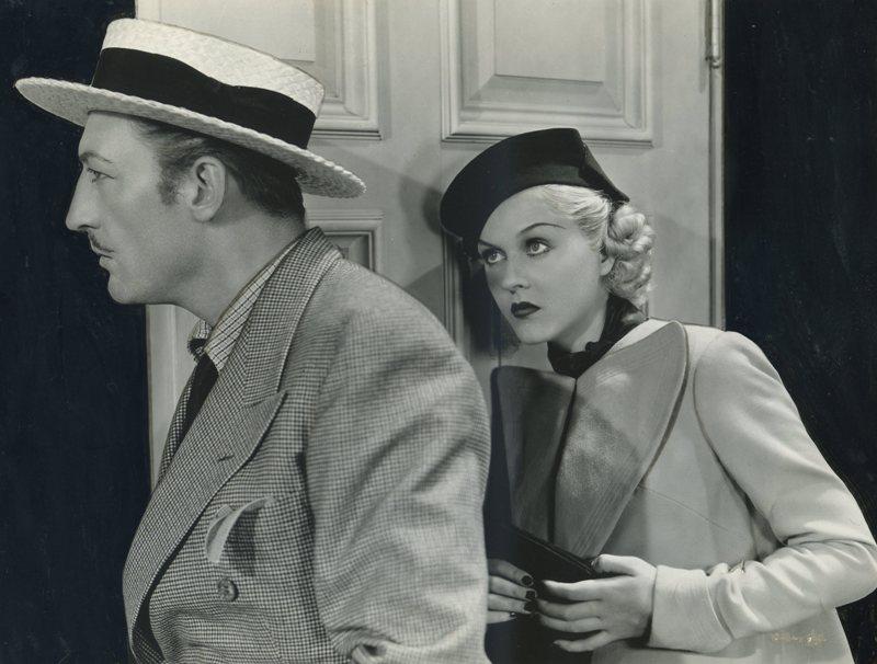 Warren William and Patricia Ellis