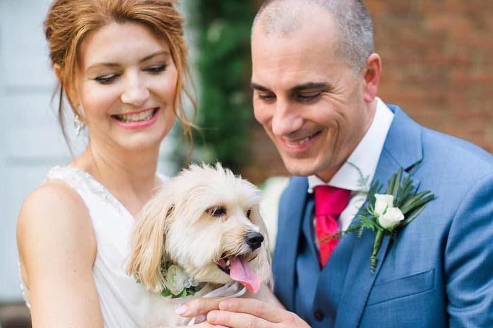 Destination wedding at Warrenwood Manor