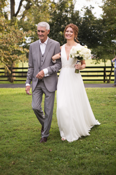 Kentucky summer estate wedding