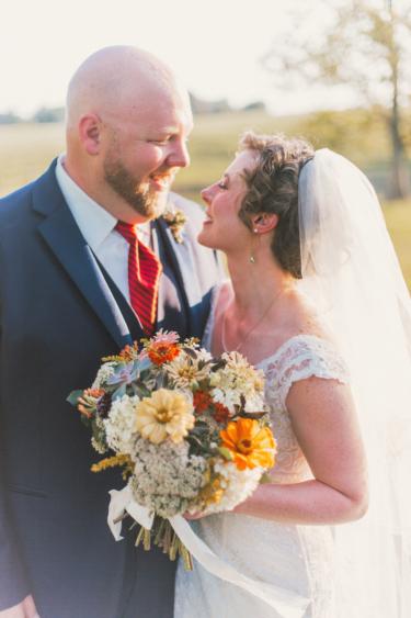 Warm earthy farm wedding at Warrenwood Manor