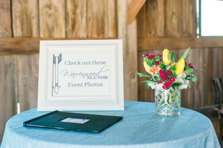 Open House Idea: Print photo books to showcase photos for events in wach space of the venue