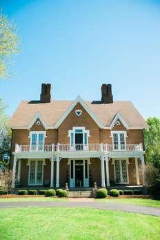 Historic mansion on the Warrenwood Manor estate