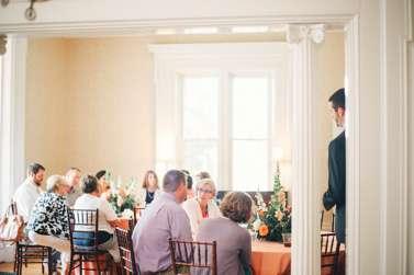 Wedding reception in Warrenwood Manor