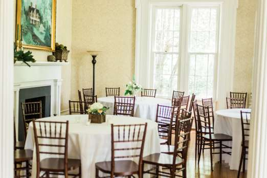 Wedding reception in historic Kentucky home