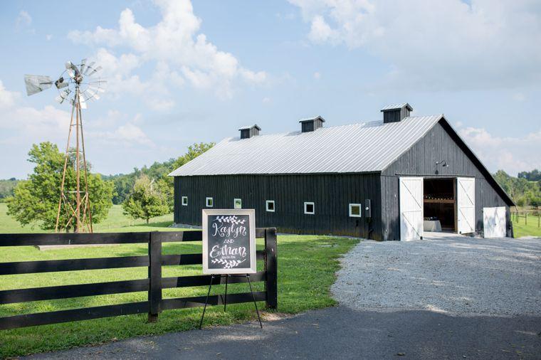 Wedding barn on Kentucky farm