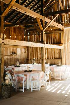 Refined rustic meets traditional romantic wedding