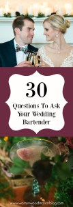 30 Questions for Bartender