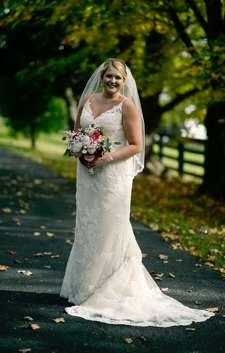 Bride at Classic Estate Wedding