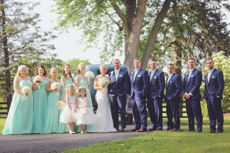 Vintage glam kentucky farm wedding in spring
