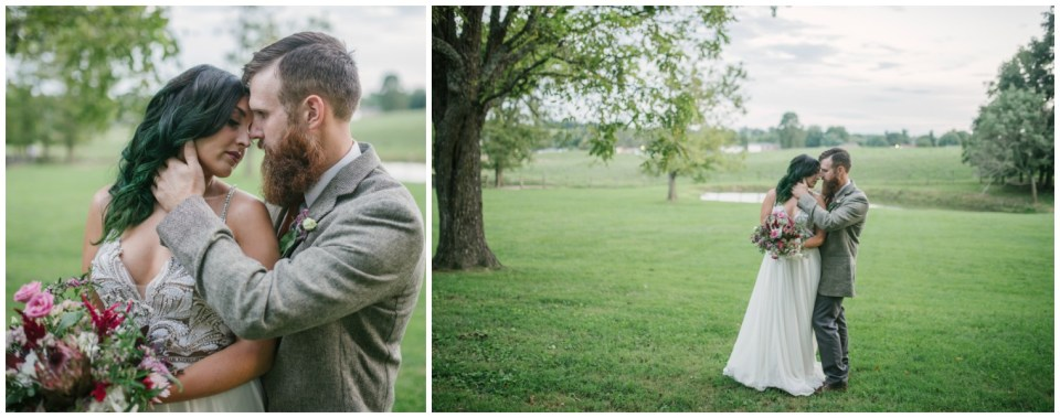 Outdoor Summer Wedding with Vibrant Floral Design