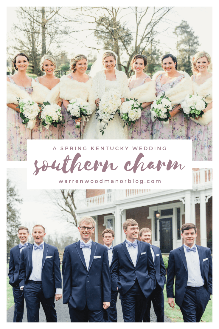 spring kentucky wedding