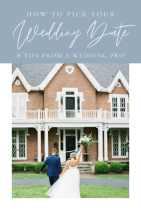 How to pick your wedding date, 8 tips from a wedding pro