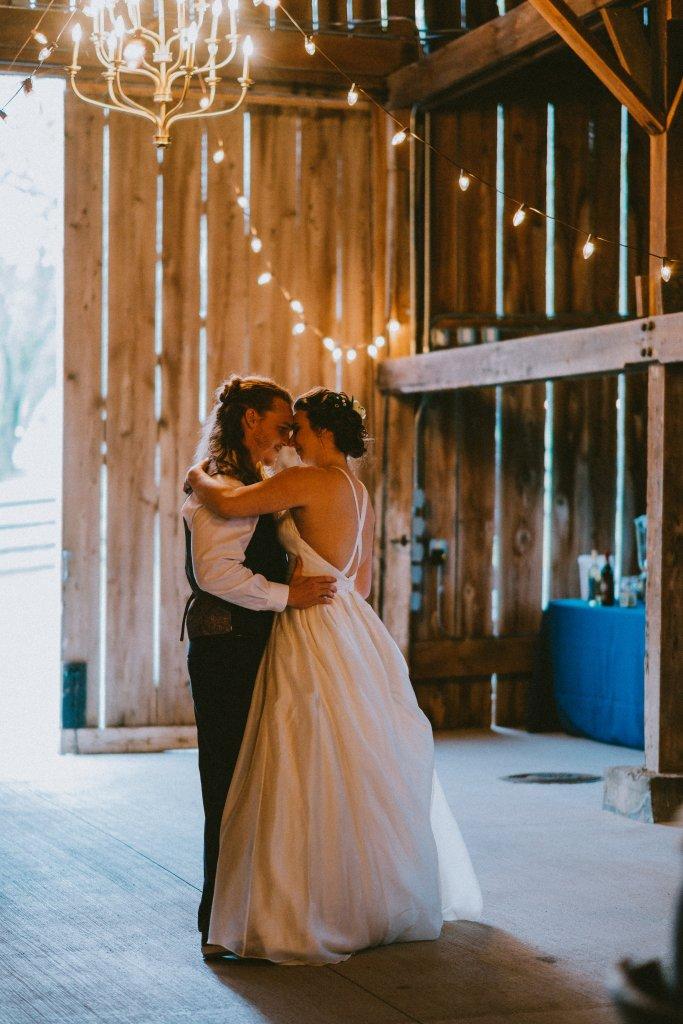 First dance at Vintage Spring Wedding - Warrenwood Manor -Kentucky Wedding Venue