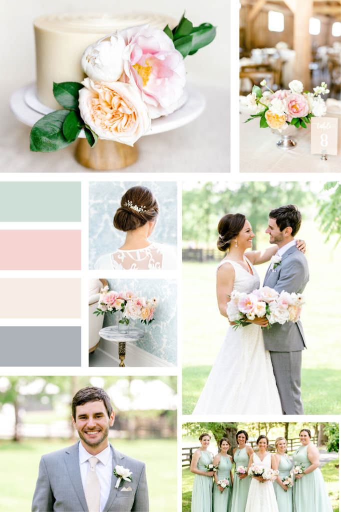 Southern Chic Pastel Wedding at Warrenwood Manor in Kentucky
