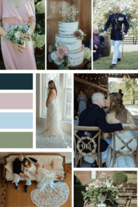 Soft Color Palette for Laid Back September Wedding at Warrenwood