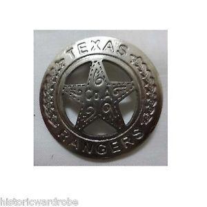 Texas Ranger COA Badge, Western Sheriff Marshall Police Reproduction
