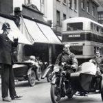 Albert Puffet, England's tallest policeman in Warrington in 1932