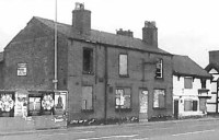 The sad state of the vandalised and boarded up General Wolfe in 1993