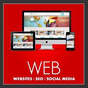 Website Design, SEO, and social media
