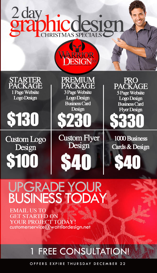 2 Day Christmas Specials