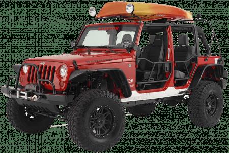 jeep wrangler tj lj watercraft rack