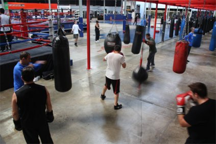 Typical Boxing Gym