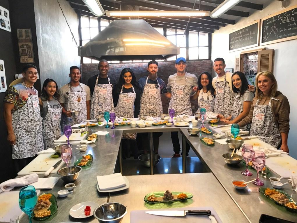 Warrior Retreats cuisine experience