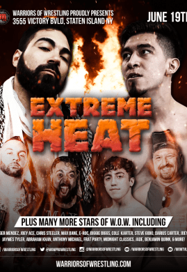 Extreme Heat 2021 Poster