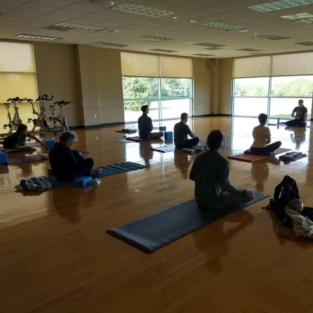 Yoga at Cedar Hill Rec Center