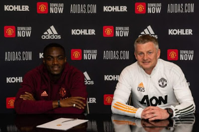 EPL: Eric Bailly renews Man United contract