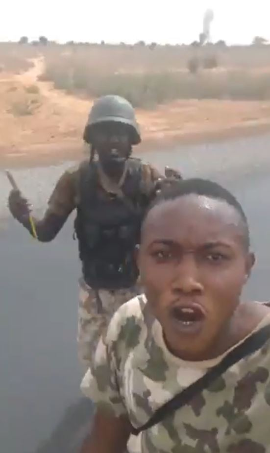 """""""Airforce killed ground soldiers thinking they were Boko Haram"""" – Men in military uniform claim (video)"""