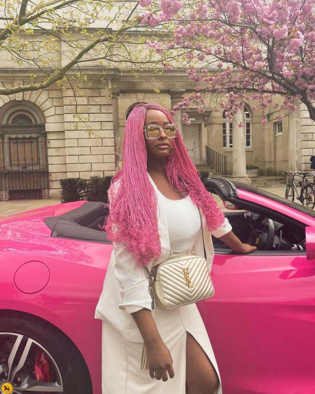 """Nothing better than a proud dad"" – Reactions as Femi Otedola pose beside DJ Cuppy's billboard"