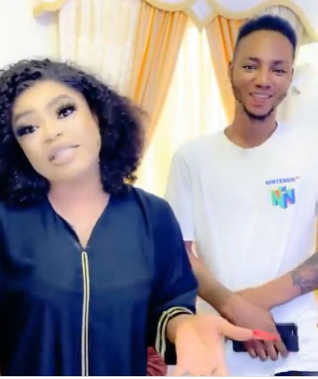 """Do it for love and not for money"" – Man who tattooed Bobrisky on his arm educates the public on fans' love despite not getting what he expected"