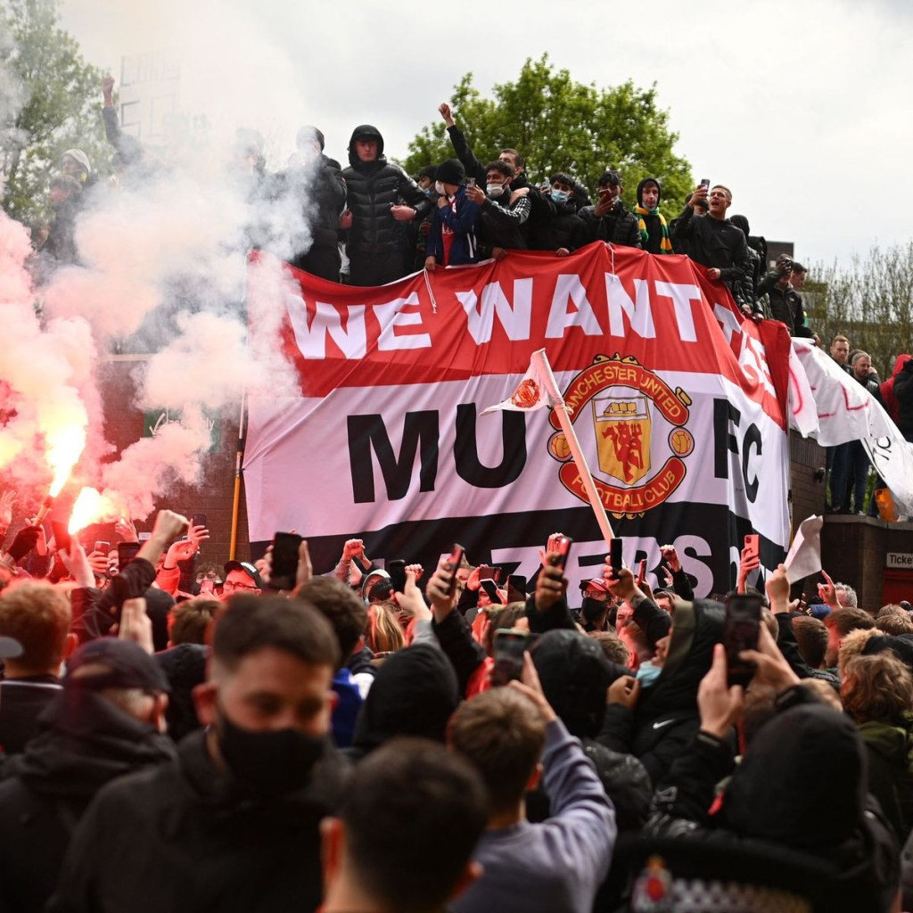 Manchester United could face a points deduction and hefty fine that saw Liverpool clash postponed