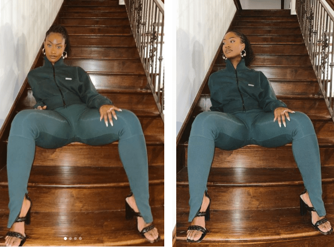 Singer Tems stuns in new hot photos