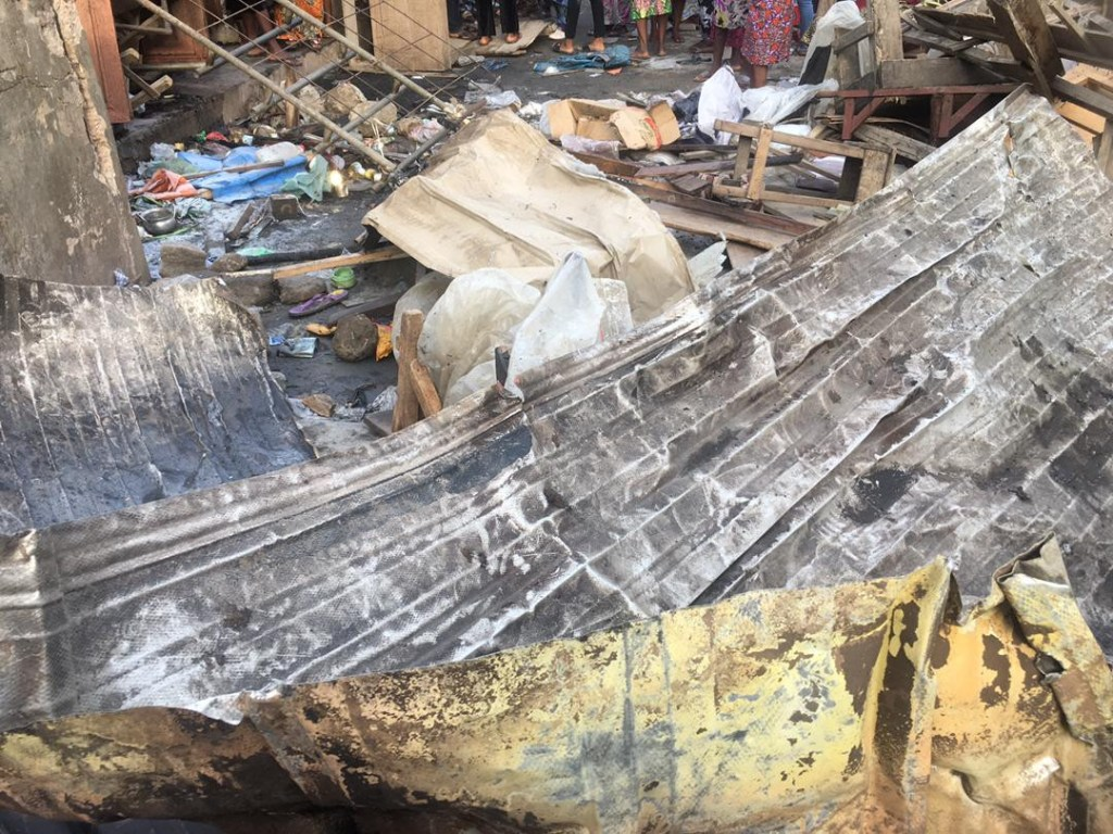 Lagos market fire was caused by explosives – LASEMA