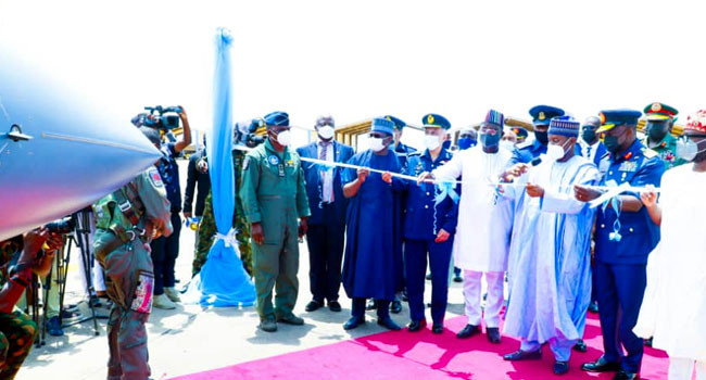 Nigerian Air Force inducts three JF-17 multi-role thunder aircraft (photos)