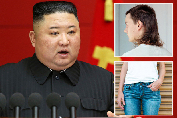 Kim Jong-un bans mullet hairstyles and skinny jeans in North Korea