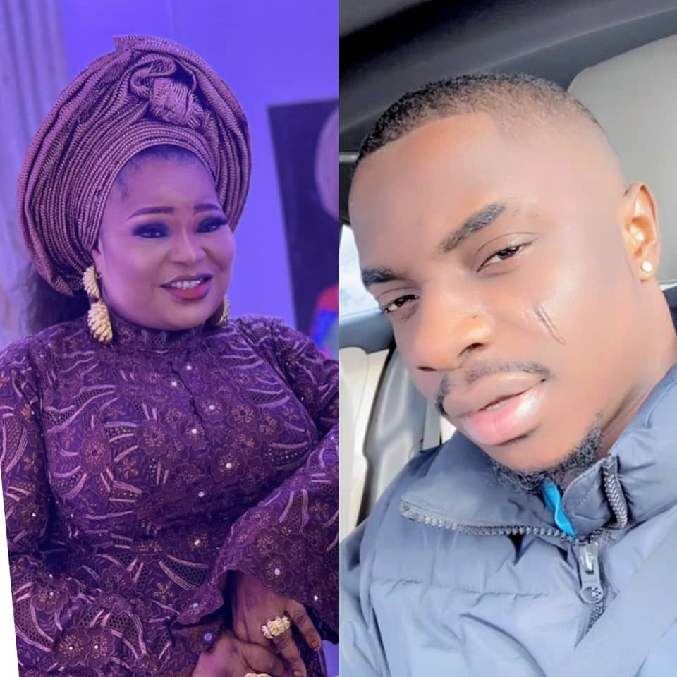 """""""The only first lady I know""""- MC Oluomo's son hails his mum as he wishes her a happy birthday; Ehi Ogbebor also celebrates her"""