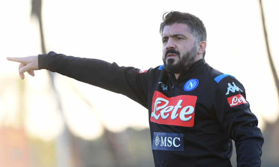 Gennaro Gattuso sacked as Napoli manager after missing out on Champions League