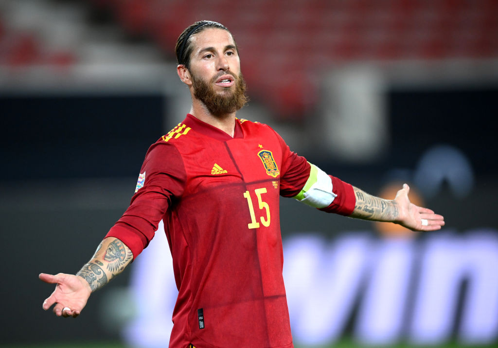 'It hurts' - Sergio Ramos reacts to shock Spain Euro 2020 squad omission