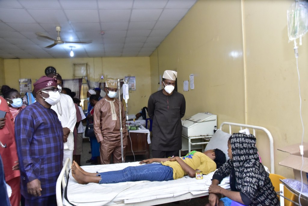 100 Ekiti students hospitalized after inhaling chemical used for fumigation