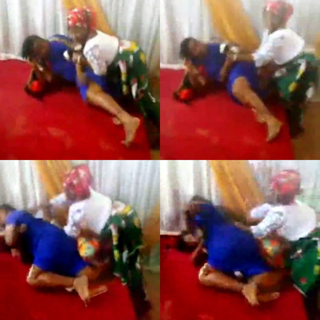 Trending video of 'pastor's wife and a female member' fight dirty inside a church in Umuahia