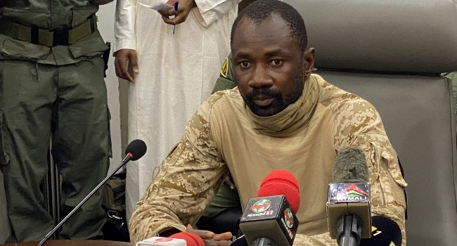 Mali's constitutional court names coup leader, Colonel Assimi Goita as country's transitional President